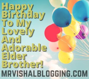 happy birthday big brother images and quotes
