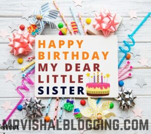 happy birthday little sister images download