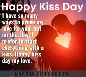 happy kiss day pics download with messages