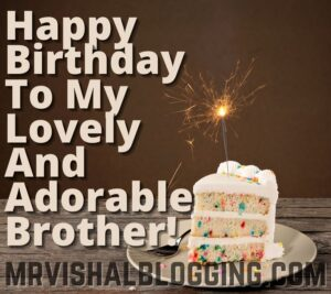 happy birthday brother with cake images