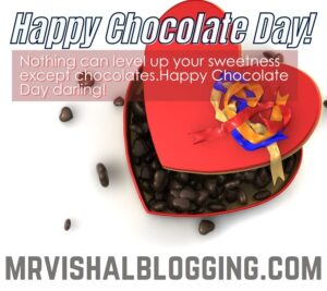 happy Chocolate Day HD pics download with quotes