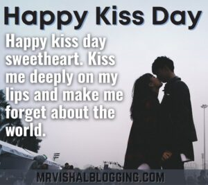 happy kiss Day HD pics download with quotes