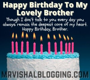 happy birthday brother cake photos download with quotes