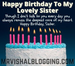 happy birthday my sweet sister cake images with quotes and messages