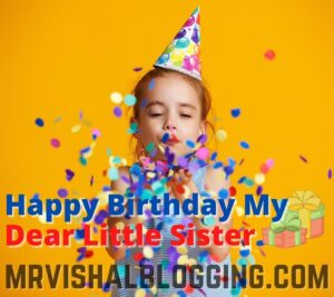 happy birthday little sister hd images
