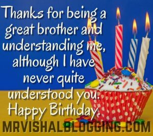 happy birthday brother images with candles and quotes