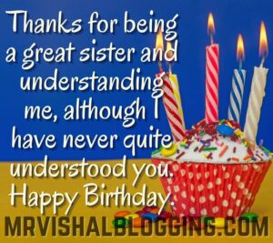 happy birthday sister pics with cake and candle HD download