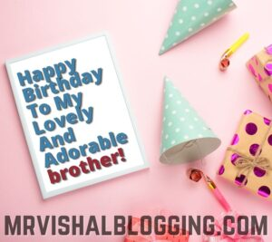 happy birthday brother messages images
