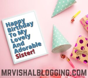 happy birthday wishes for sister images download