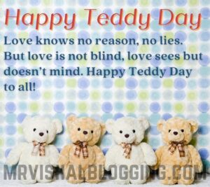 happy teddy day pictures download with messages