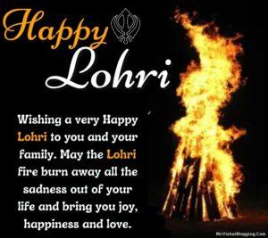 Happy Lohri Quotes Images Download