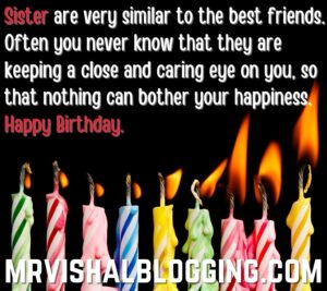 happy birthday sister candle HD pictures download
