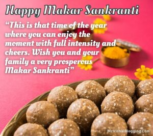 happy makar sankranti quotes pictures with sweets