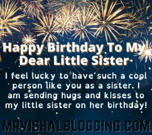 happy birthday younger sister images