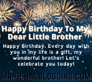 happy birthday younger brother wishes pics download