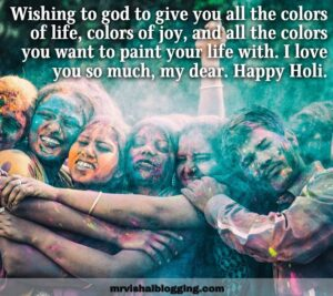 happy holi images for Facebook with wishes