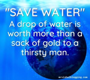 save water save life images download with quotes free