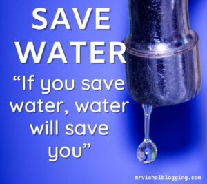 save water hd wallpaper with quotes