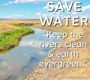 save water save life picture download