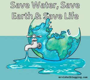 save water save life photo download