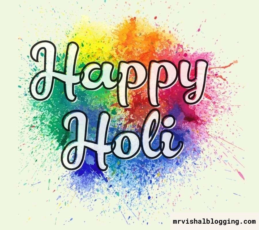happy Holi HD photo download