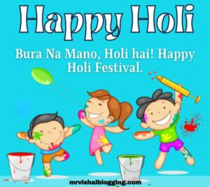 happy holi cartoon images