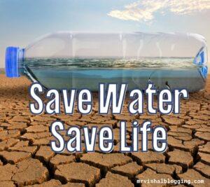 save water cartoon images