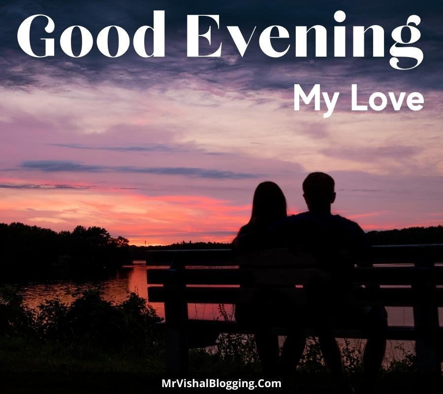 good evening love HD pictures download