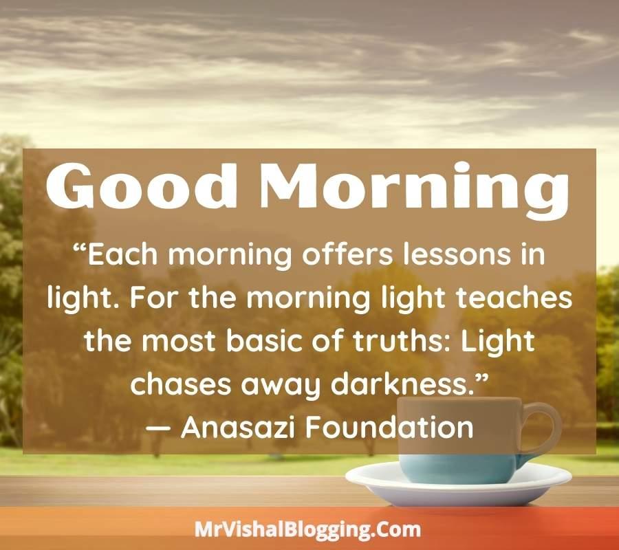Safalta Dayak Words good morning message images