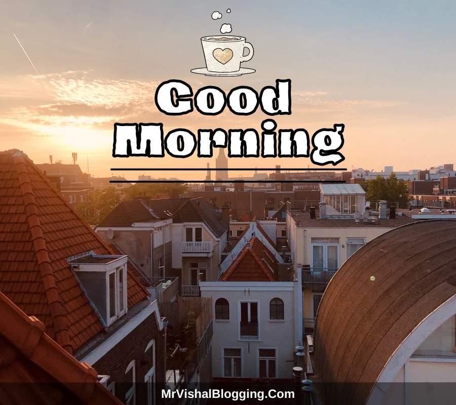 good morning photos for Facebook