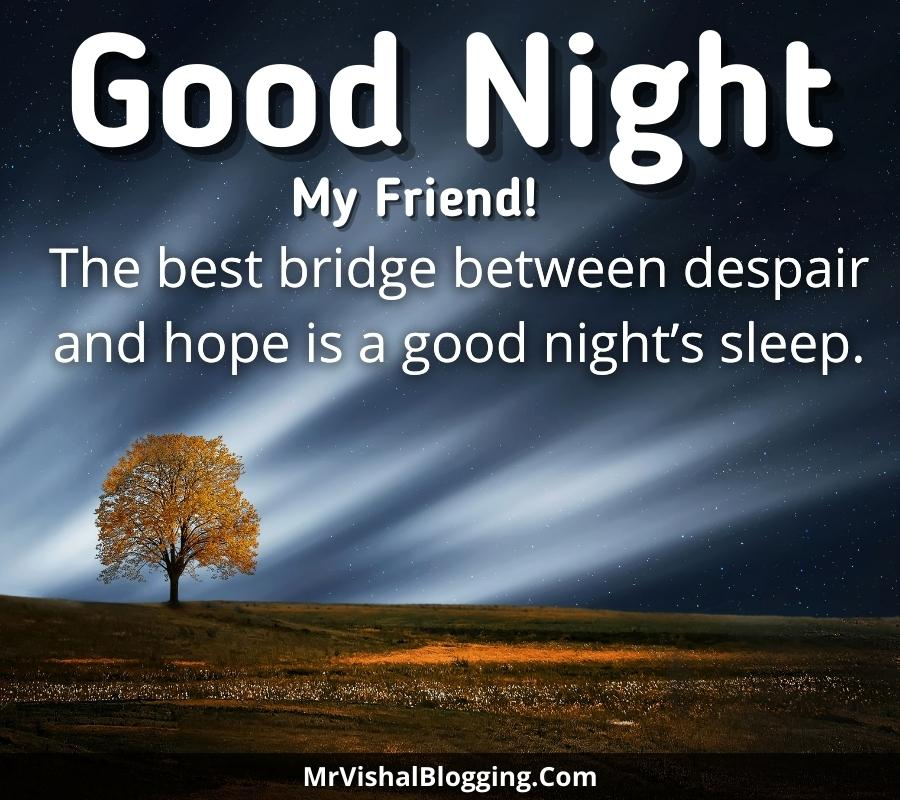 good night photos for friends