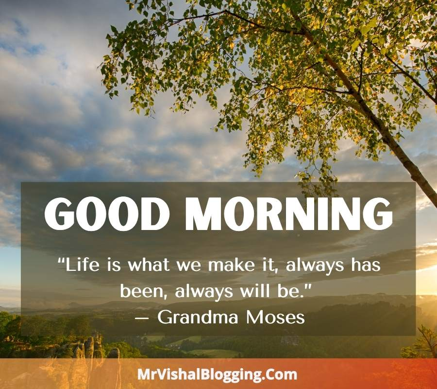 Good Morning HD Images With Positive Quotes