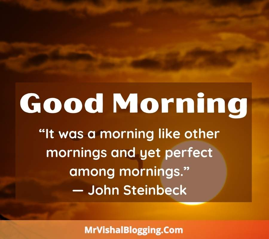 Good Morning HD Images With Successful Quotes