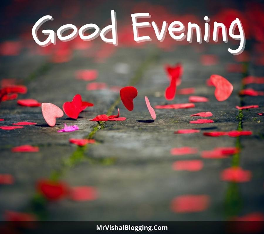 good evening love images