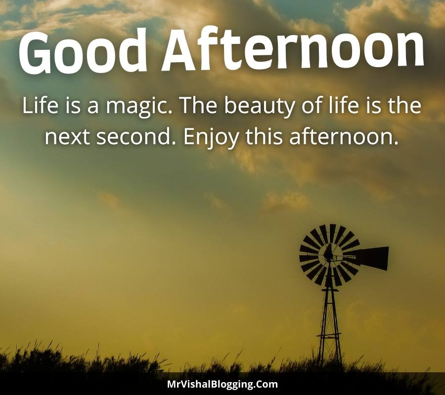 good afternoon images with messages