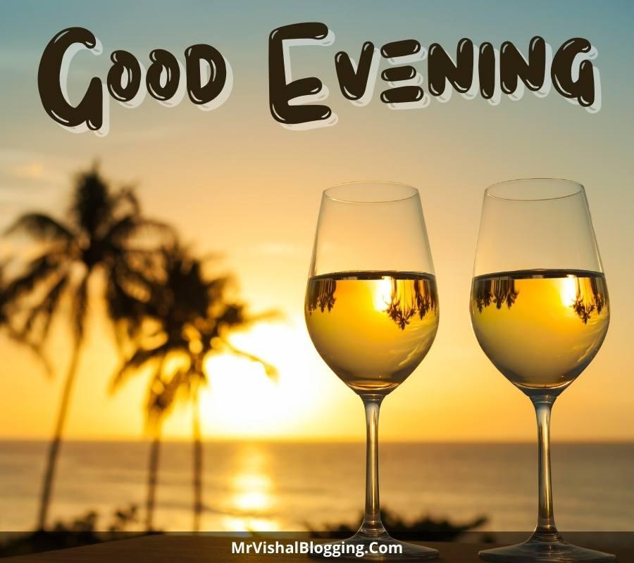 good evening romantic images