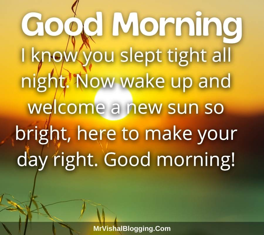 good morning messages with pictures