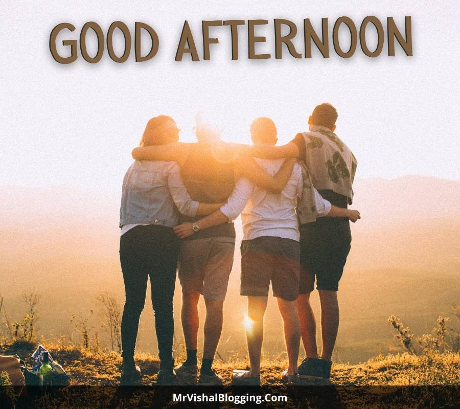 good afternoon friends images