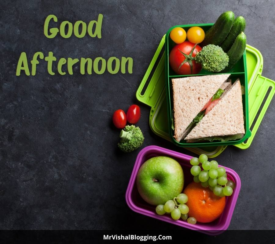 good afternoon lunch images
