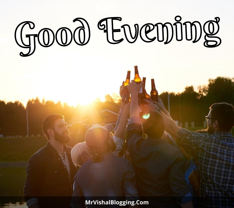 good evening pictures for friends