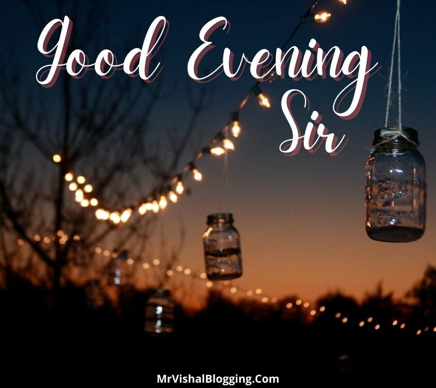 good evening sir images