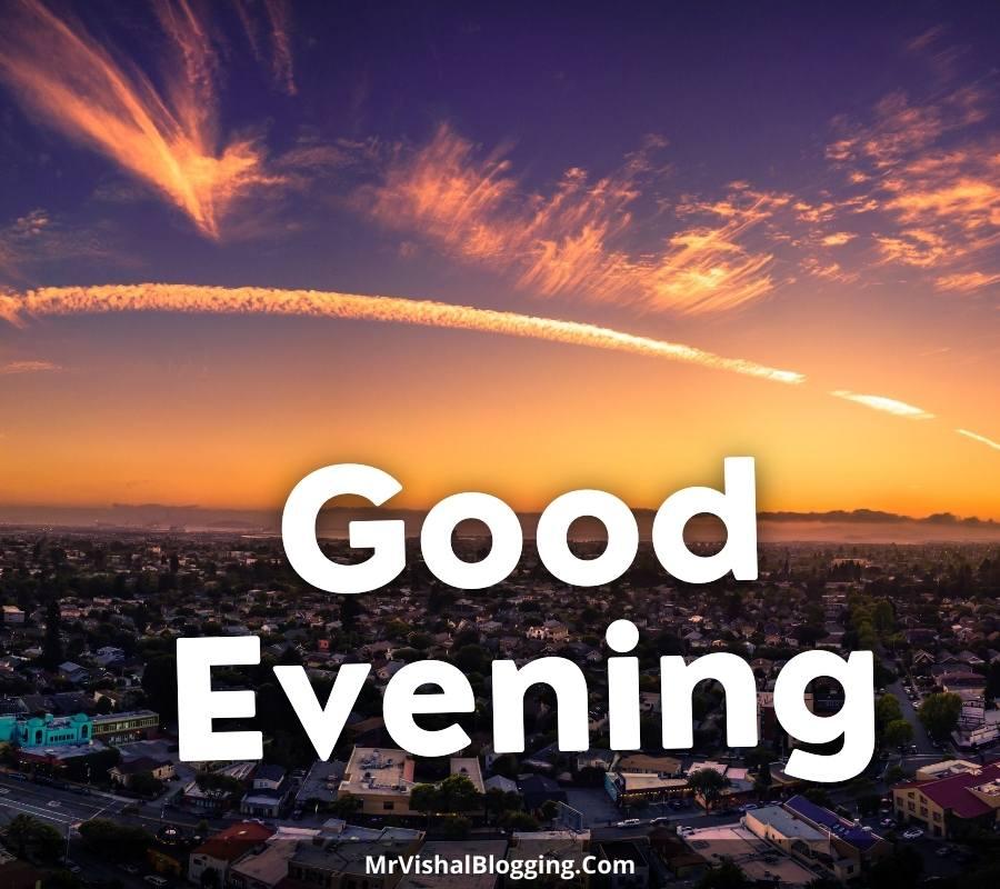 WhatsApp good evening images