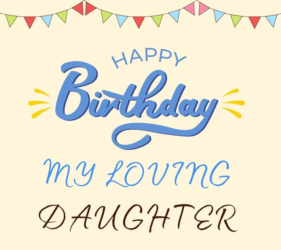 happy birthday daughter images with birthday card