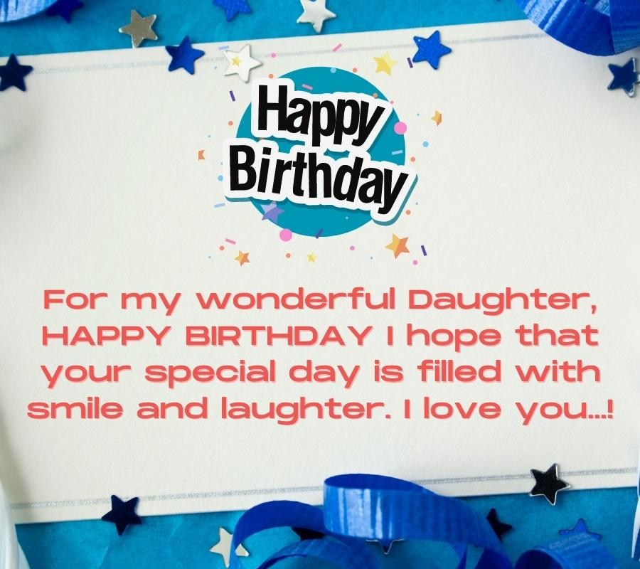 happy birthday daughter picture quotes