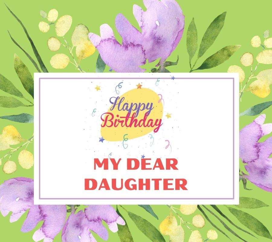 happy birthday daughter images funny