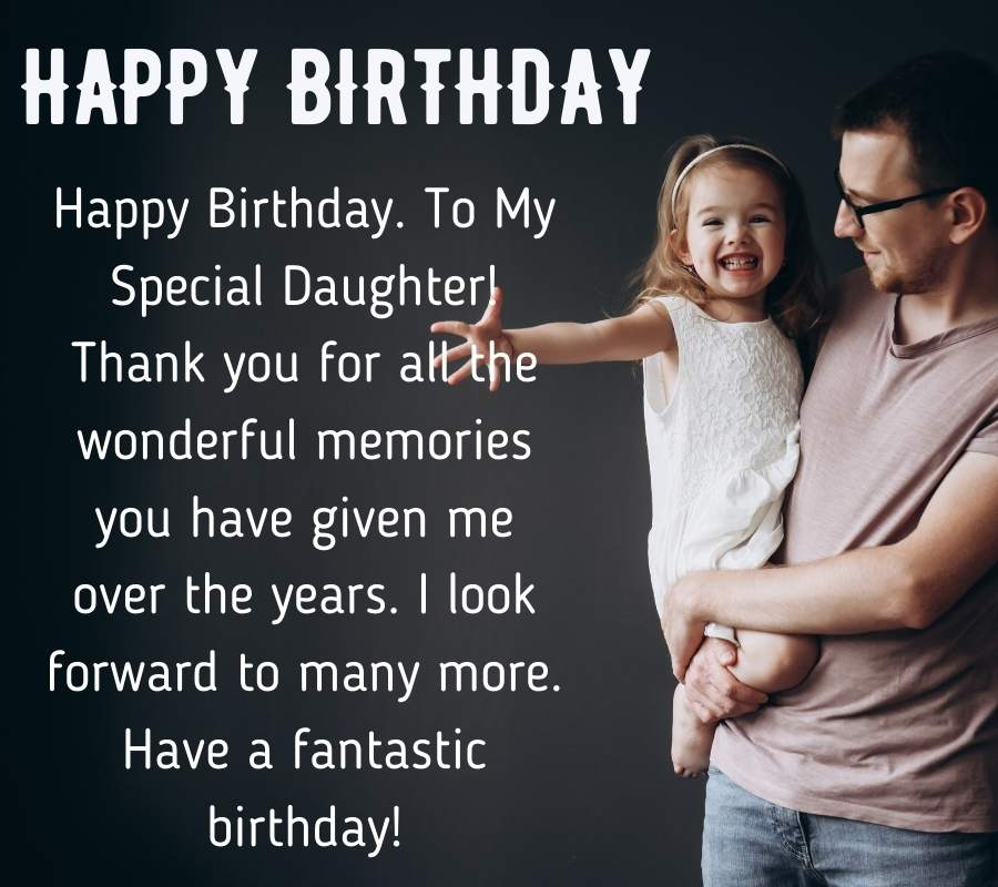 dad with happy birthday to daughter pics