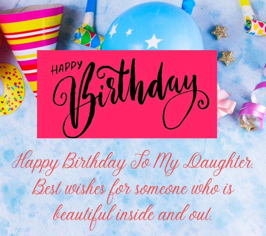 happy birthday to my daughter images
