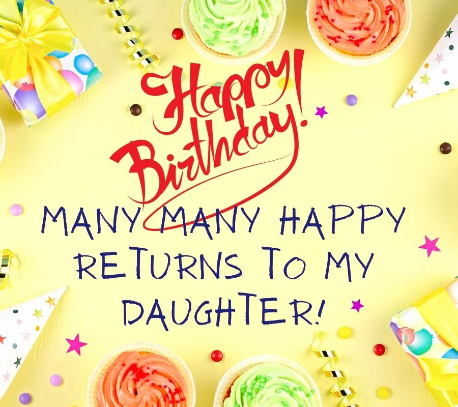 happy birthday daughter images free