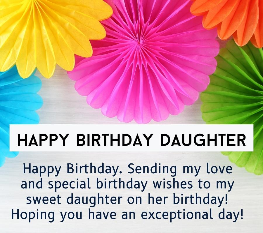 happy birthday daughter images for Facebook