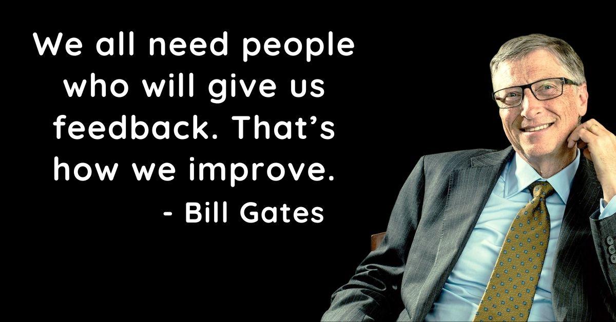 Bill Gates Prernadayak Quotes In English HD Pics Download